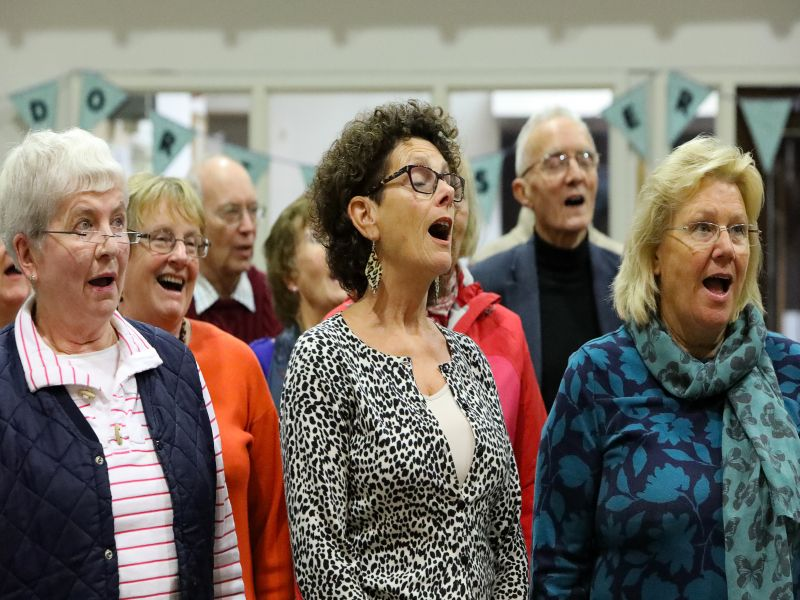 Dorchester Choral Society to release a Christmas DVD